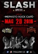 SLASH Appetite & Bridge Of Diod @ Mephisto Rock Cafè