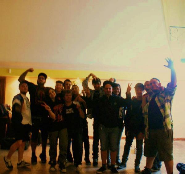 With TheConflitto (Post Hardcore from La Spezia)