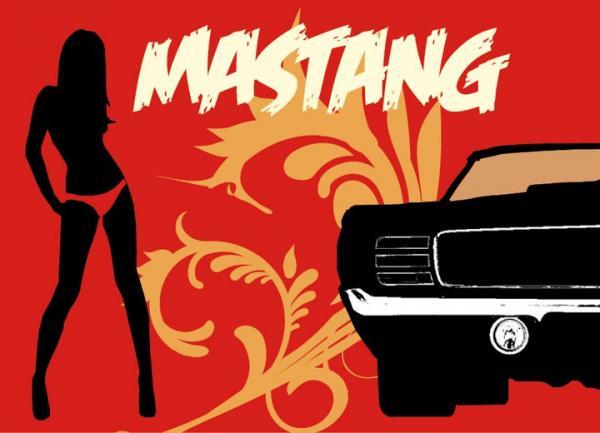 Logo Mastang
